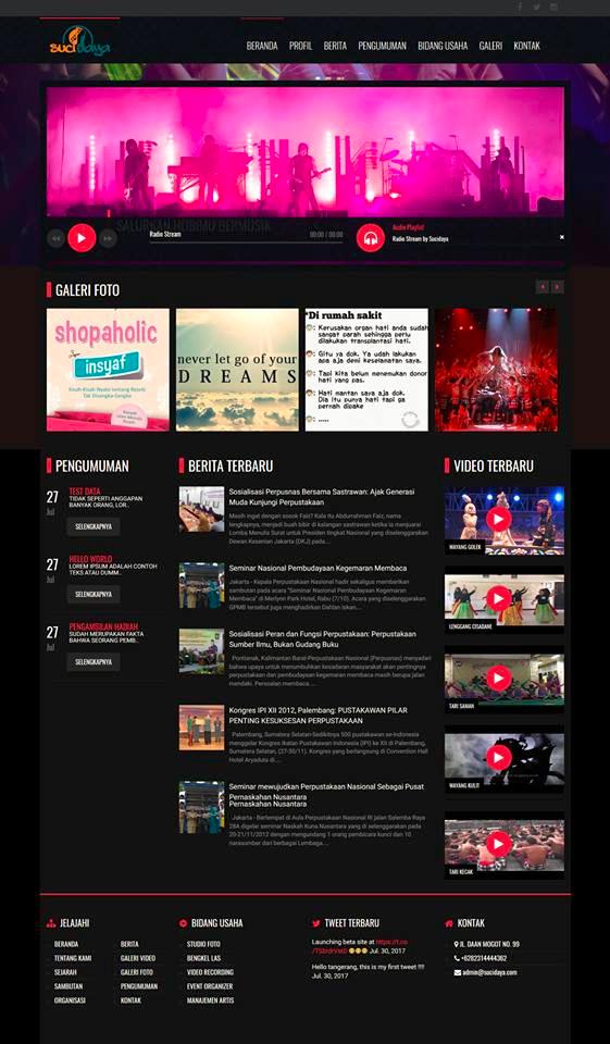 Website Komunitas Cisadane Tangerang image